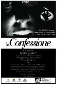 La Confessione - Produzioni - Catonateatro