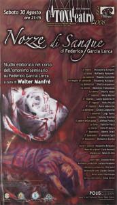 Nozze di Sangue - Produzioni - Catonateatro