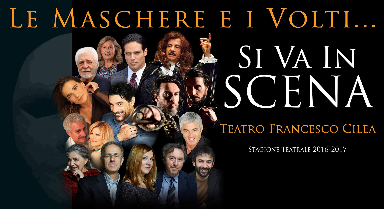 Le maschere e i volti - Teatro Cilea
